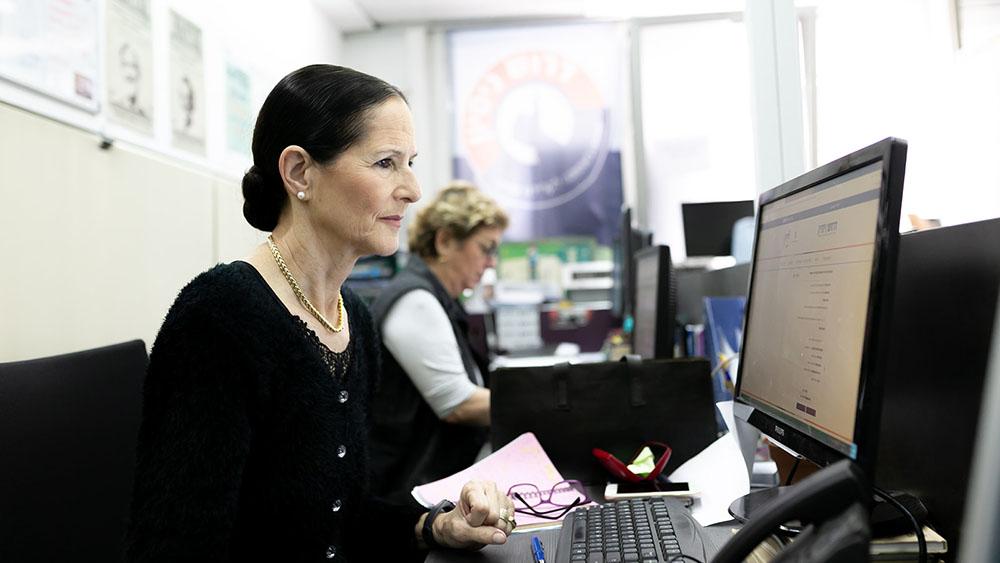 פרויקט תעסוקה בגיל השלישי 121 מנוע לשינוי חברתי